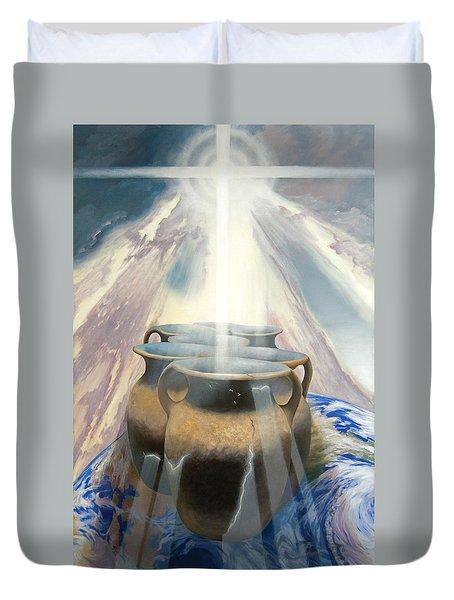 Shining Pots Duvet Cover