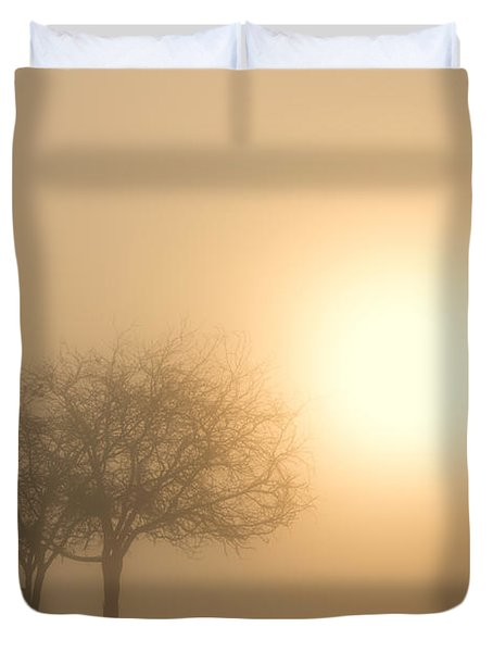 Shining Through Duvet Cover by Mike  Dawson