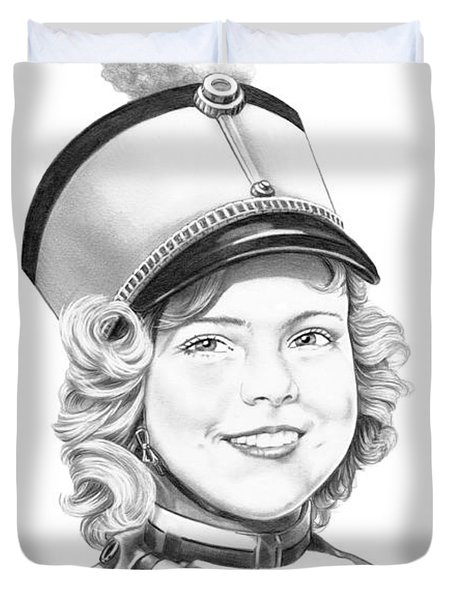Shirley Temple Duvet Cover by Murphy Elliott