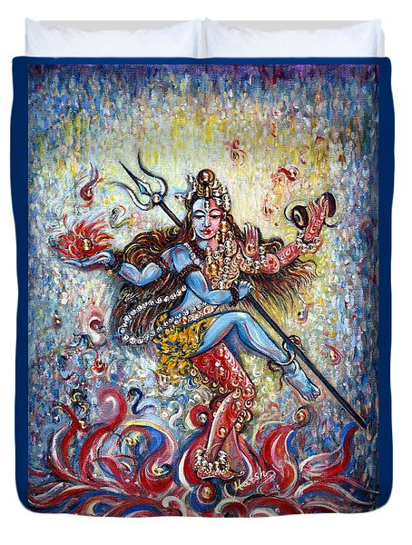 Shiv Shakti Duvet Cover