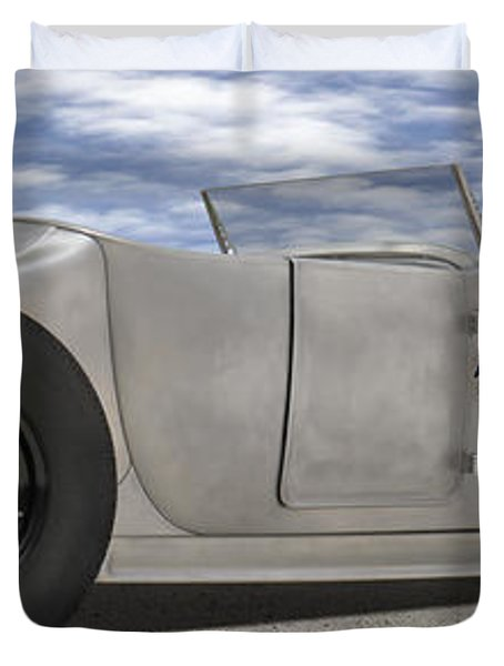 Shock Therapy At Gallap Duvet Cover by Mike McGlothlen