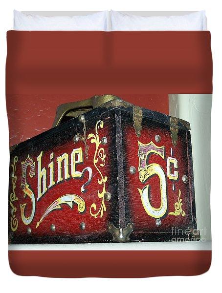Shoe Shine Kit Duvet Cover
