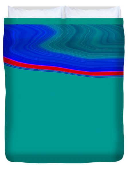 Shoreline II C2014 Duvet Cover