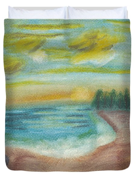 Shoreline Duvet Cover