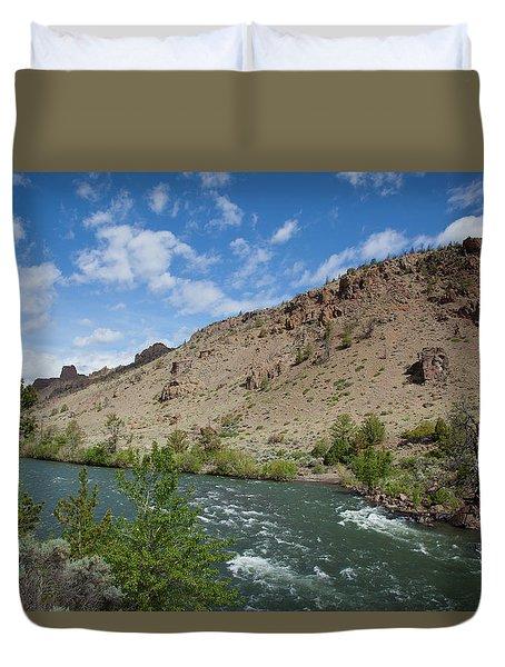 Shoshone River Duvet Cover