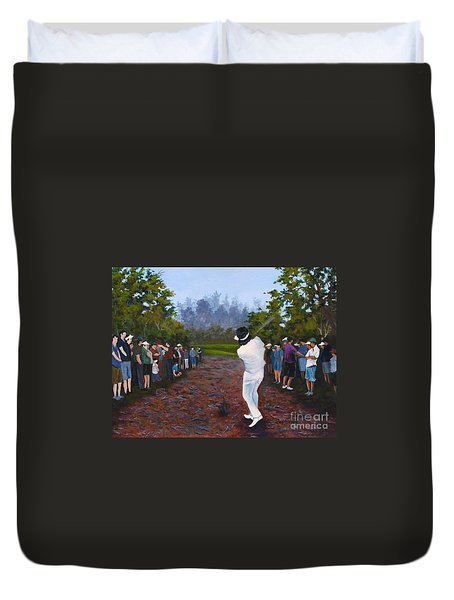 Shot Heard Around The World Duvet Cover