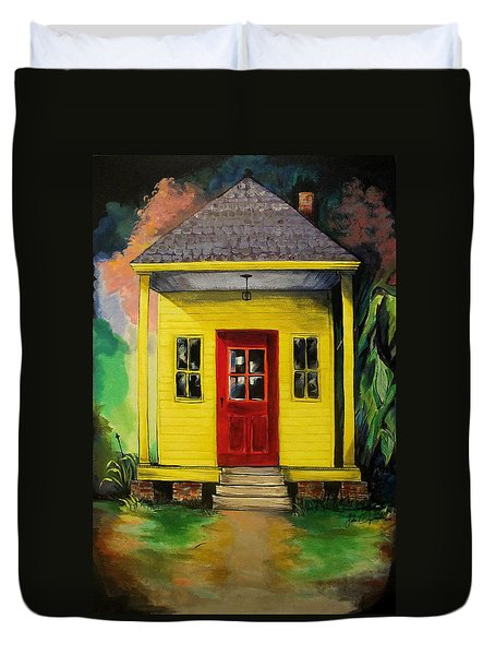 Shotgun House Duvet Cover