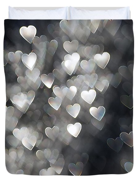 Showered In Love Duvet Cover