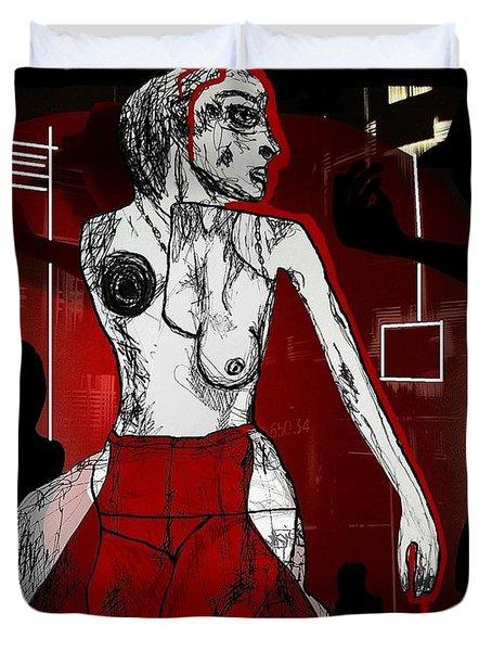 Showgirl Duvet Cover by Franziska Kolbe