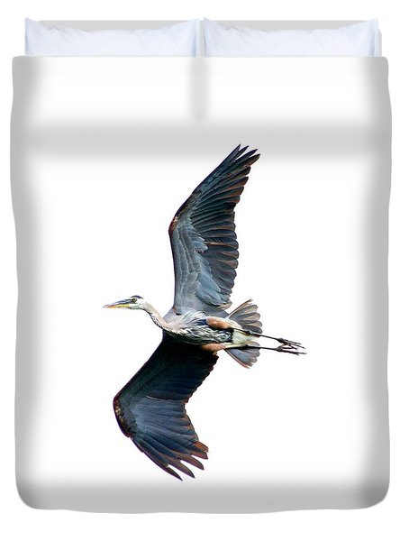 Showing Some Leg Duvet Cover by Heather King