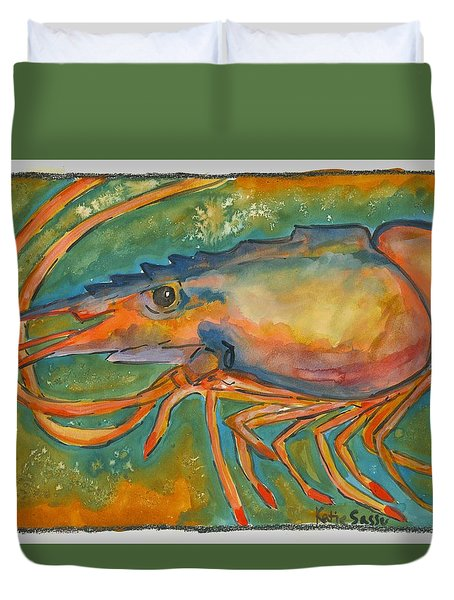 Shrimp Head Duvet Cover