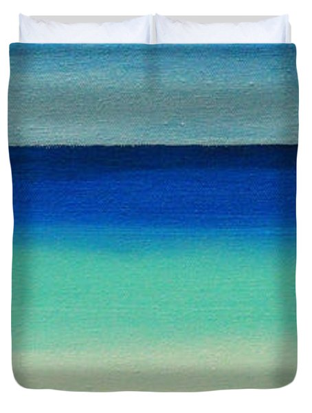 Shutter Me Sea Duvet Cover
