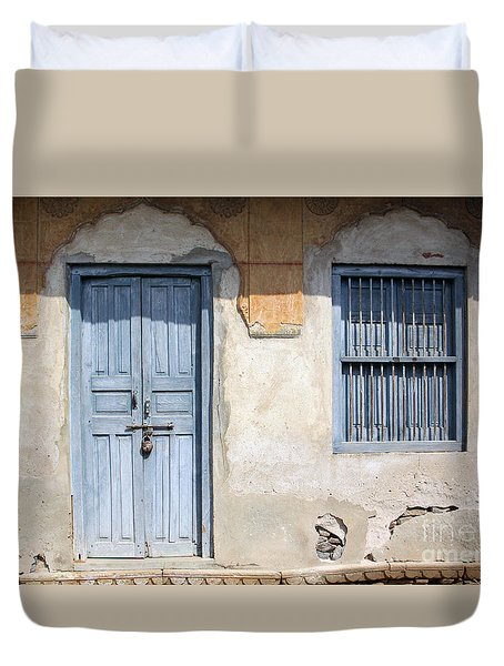 Shuttered #6 Duvet Cover