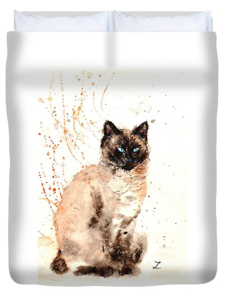 Siamese Beauty Duvet Cover