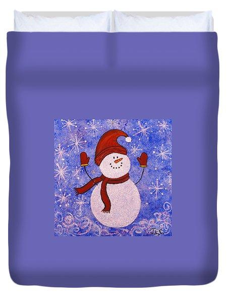 Sid The Snowman Duvet Cover