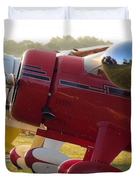 Side By Side. Oshkosh 2012 Duvet Cover