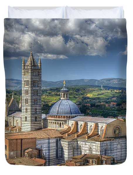 Siena Cathedral Duvet Cover