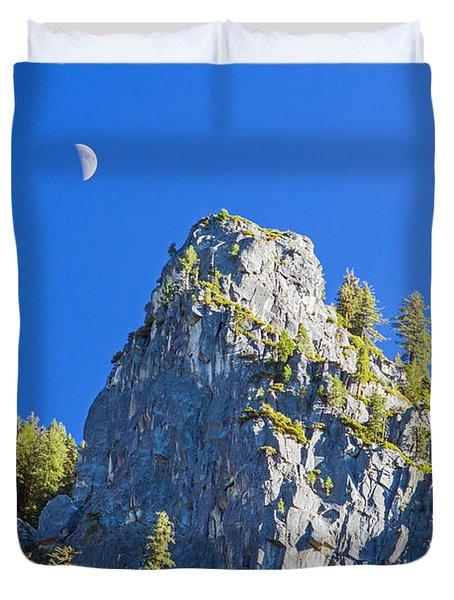 Sierra Moonrise Duvet Cover