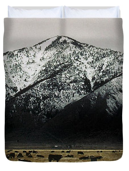Sierra Nevada Mountains Near Lake Tahoe Duvet Cover by Steve Archbold