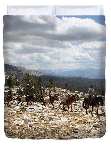 Sierra Trail Duvet Cover