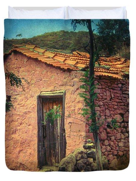 Sighed Duvet Cover by Taylan Apukovska