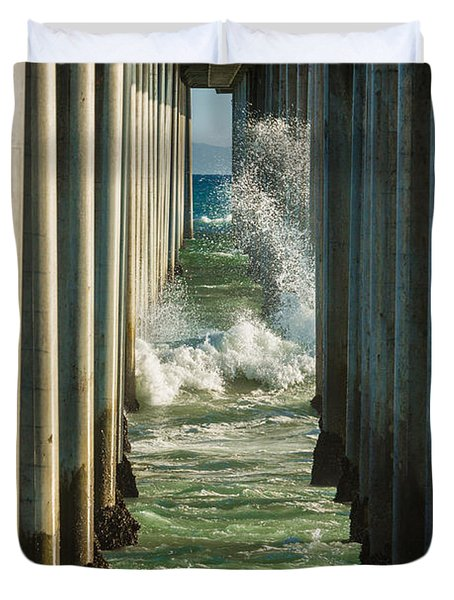 Sign Wave Duvet Cover