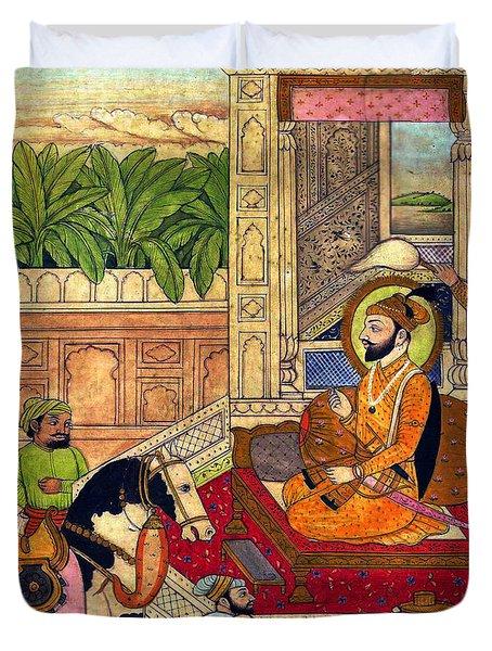 Sikh Guru Duvet Cover