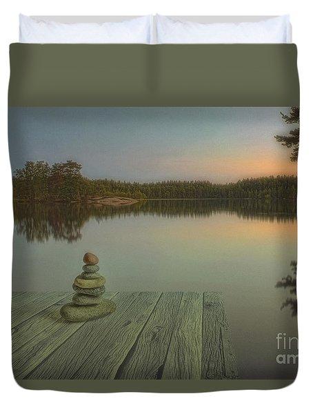 Silence Of The Wilderness Duvet Cover by Veikko Suikkanen