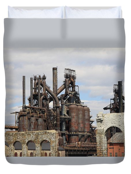 Silenced Behemoth Duvet Cover