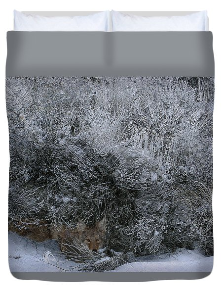 Silent Accord Duvet Cover
