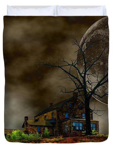Silent Hill 2 Duvet Cover by Dan Stone