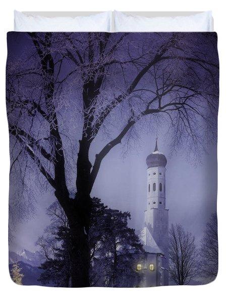 Silent Night Duvet Cover