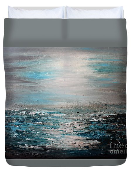 Silent Sea Duvet Cover