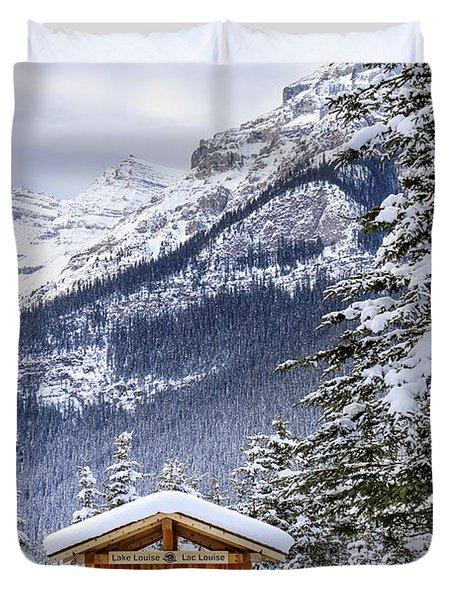 Silent Winter Duvet Cover