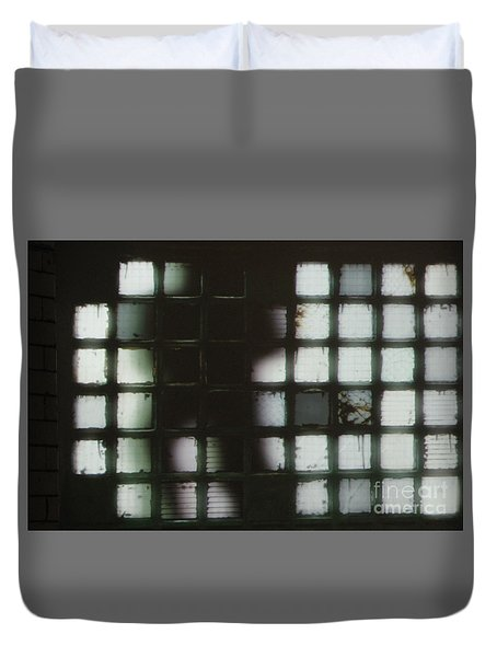 Shadow Previously Titled Silhouette Duvet Cover