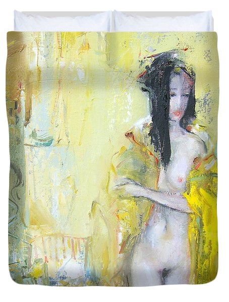 Silk Kimono Duvet Cover