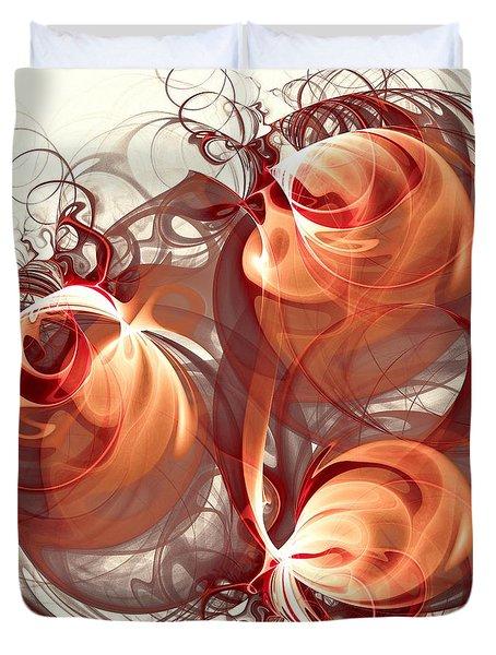 Silk Labyrinth Duvet Cover by Anastasiya Malakhova