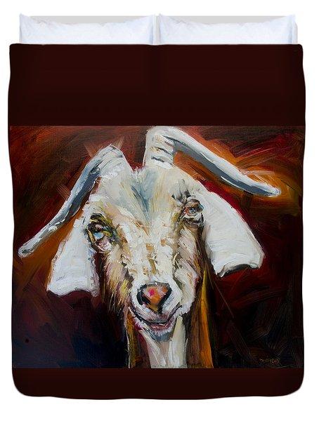 Silly Goat Duvet Cover