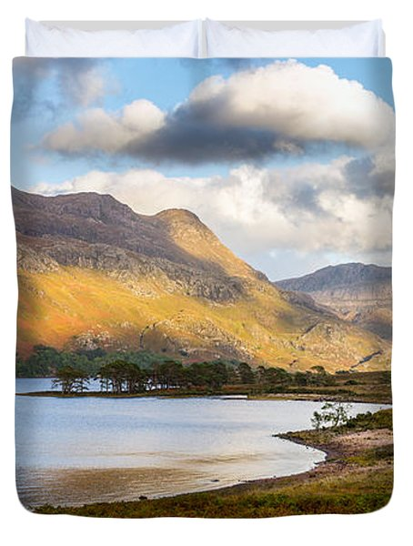 Slioch From Loch Maree Duvet Cover