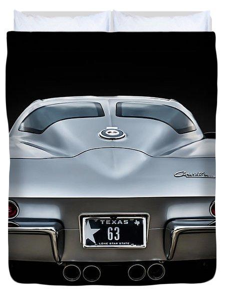 Silver '63 Duvet Cover