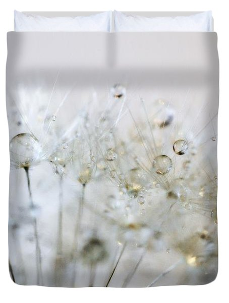 Silver And Gold Duvet Cover