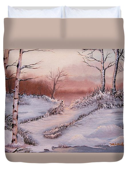 Silver Birch 2 Duvet Cover