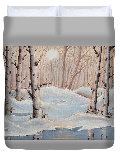 Silver Birch Duvet Cover