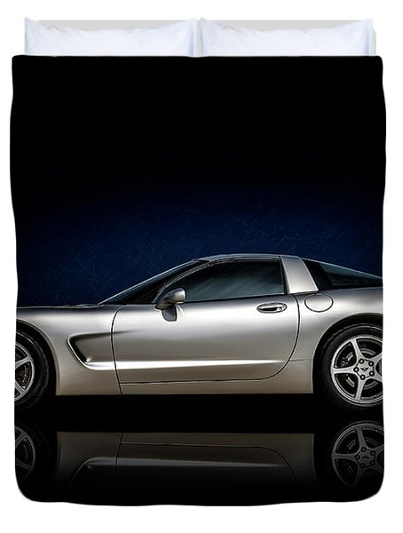 Silver C5 Duvet Cover