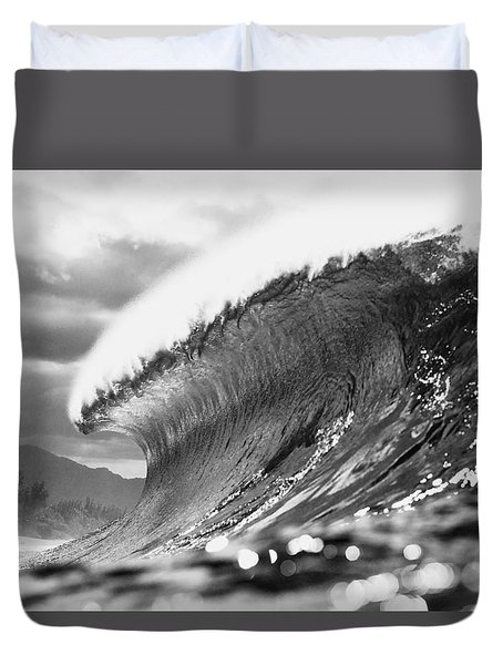 Silver Lining Duvet Cover by Sean Davey