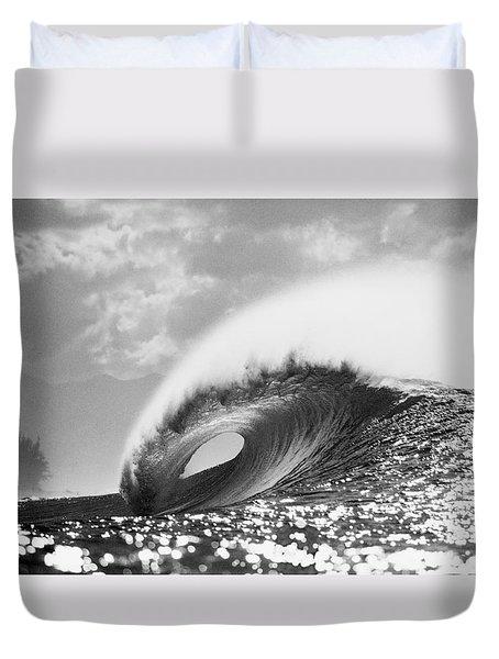 Silver Peak Duvet Cover