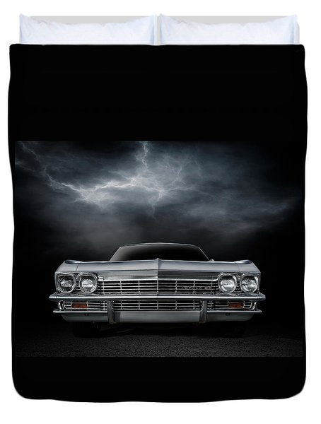 Silver Sixty Five Duvet Cover