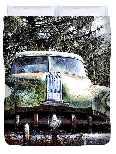 Silver Streak 8 Duvet Cover by Bill Cannon