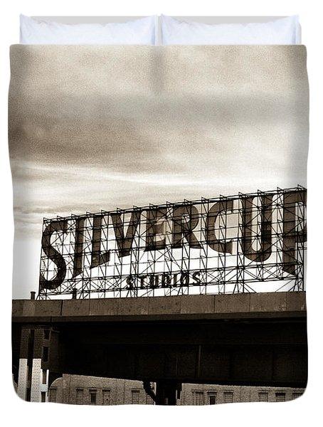 Silvercup Studios Duvet Cover