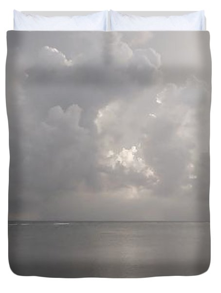 Silvern Sea Duvet Cover by Amar Sheow